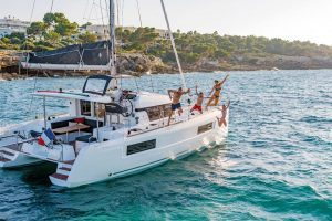 aluguer catamaran olhao algarve location boat rental