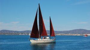 voilier veleiro sailing boat olhao algarve